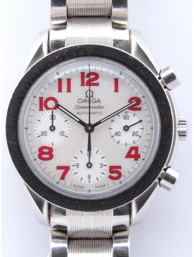 スピードマスター 3534.74 SS/AT ホワイトシェル文字盤