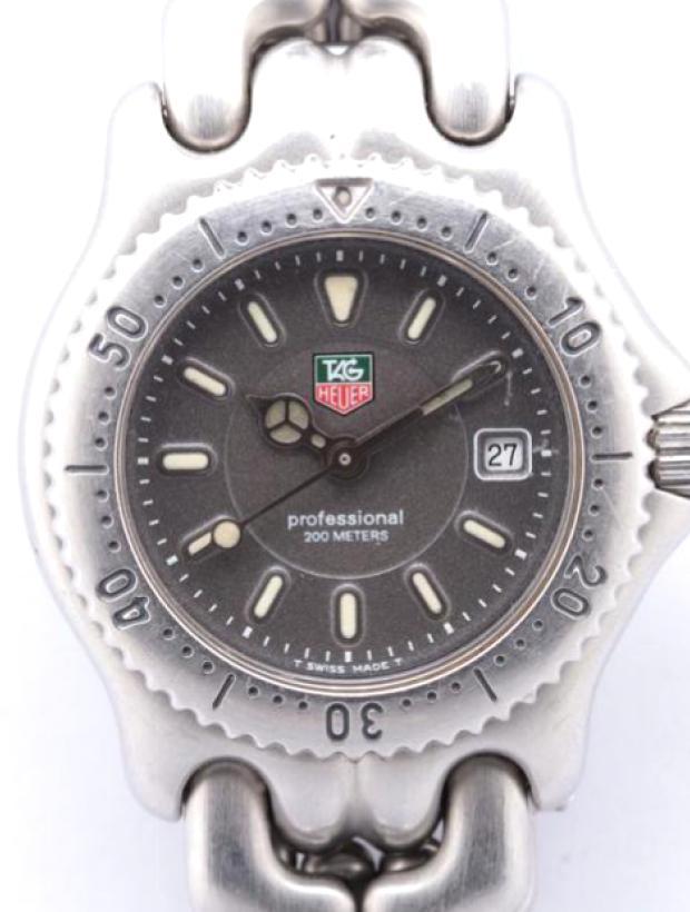 プロフェッショナル200 WG1313-0 SS QZ グレー文字盤